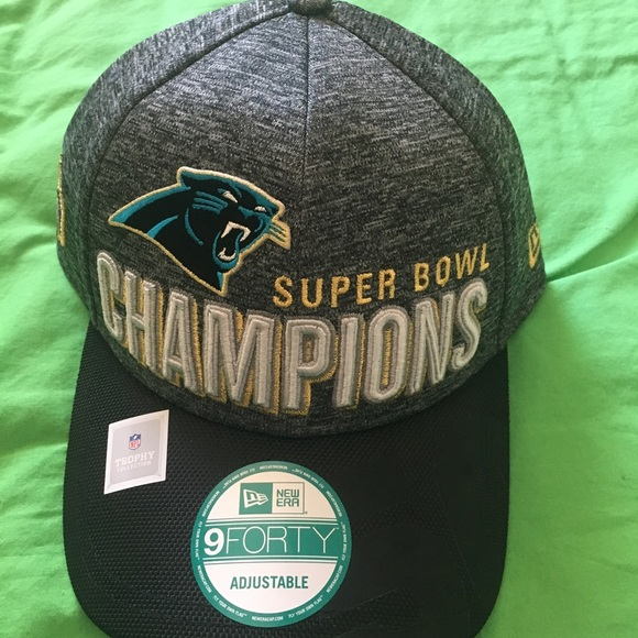 low priced 46bdb 52d8a Super Bowl 50 Hat - North Carolina Panthers
